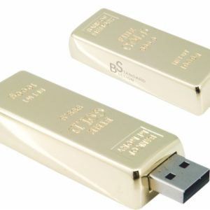 Gold biscuit USb