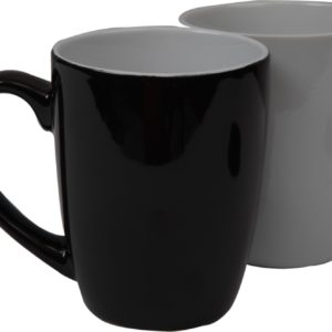 Nose handle ceramic mug