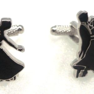 dancing couple cufflinks in uae