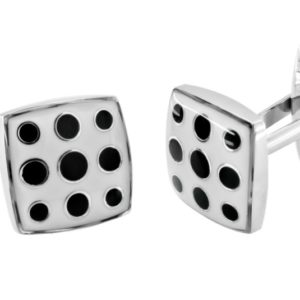 fashion dotted cufflinks in uae