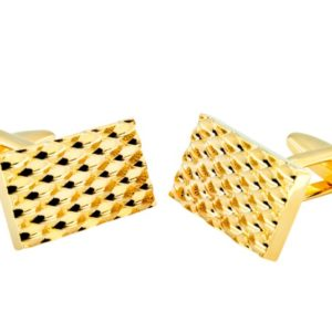 fashion gold dotted cufflinks in uae