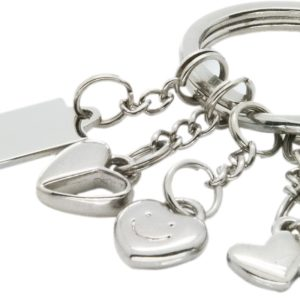 heart shaped variety keychains in uae