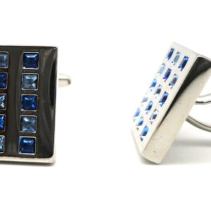 mop dark blue diamond cufflinks in uae
