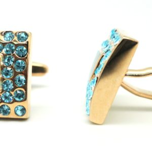mop blue diamond cufflinks in uae