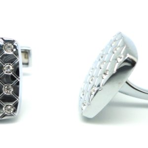 mop glittering effect cufflinks in uae