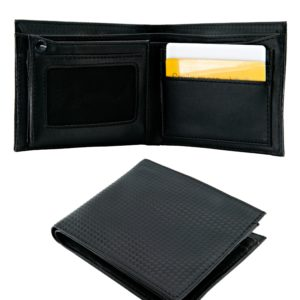 Wallet in PU material with dot design