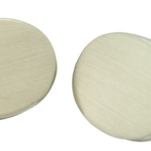 Plain Oval Cufflinks
