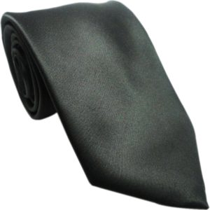 Plain black shinning tie in uae