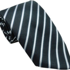 black paraller striped tie in uae