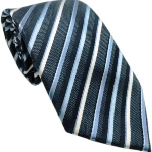 light parallel striped tie in uae