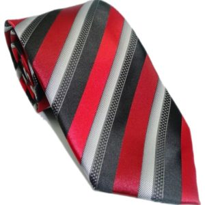 red and black striped tie in uae