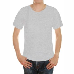 Light grey color tshirt in uae