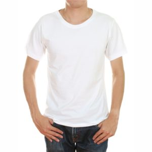 White color tshirt in uae